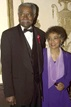Actor/director Ossie Davis and wife actress Ruby Dee