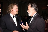Eastern Directors Council member Eames Yates chats with DGA Board Member Taylor Hackford.