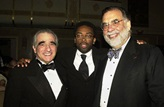 Directors Martin Scorsese, Spike Lee and Francis Ford Coppola.