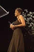 2002 Best Actress Oscar-winner Halle Berry presents the final award of the evening.