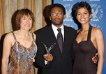 DGA President Martha Coolidge, Spike Lee and Halle Berry backstage.