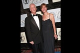 DGA President Michael Apted with his wife Dana Stevens.