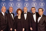 DGA National Vice President Ed Sherin, DGA President Michael Apted, Kathryn Reed, 2003 Honoree Robert Altman, Director Milos Forman and DGA National Executive Director Jay D. Roth