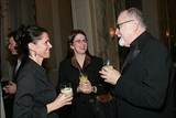Director Julie Taymor chats with DGA Secretary/Treasurer Gil Cates and his daughter Melissa. (Photo by Evan Agostini/Getty Images)