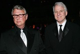 Presenter Mike Nichols and actor/director Steve Martin.