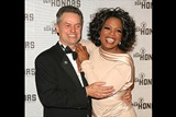 DGA Honoree Jonathan Demme and television personality/presenter Oprah Winfrey.