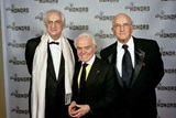 Honoree Bertrand Tavernier, former MPAA Chief Jack Valenti and DGA National Vice President Ed Sherin. (photo by Robert Hale)