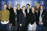 DGA Commercial Award nominees Simon Cole, Baker Smith, DGA (Past) President Jack Shea, nominee Adam Cameron, AICP's Matt Miller, director Michael Bay, DGA National Executive Director Jay D. Roth, nominees Joe Pytka and Craig Gillespie.