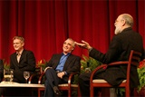 Moderator Kagan elicits laughter from Daldry and Scorsese.