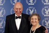 DGA Awards Master of Ceremonies Carl Reiner and wife Estelle.