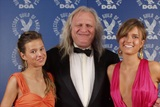 DGA Commercials Nominee Joe Pytka with daughters Ariel and Sasha.
