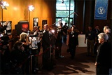 The press is eager to meet the 2003 Feature Film Nominees.