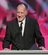 Director Werner Herzog accepts the Documentary Award.