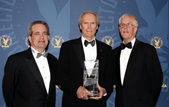 Jay D. Roth, Clint Eastwood and Michael Apted.