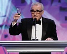 Before opening the envelope, Scorsese makes a 60th Anniversary toast.