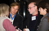Members and guests enjoy the inaugural Meet the DGA Documentary Nominees reception