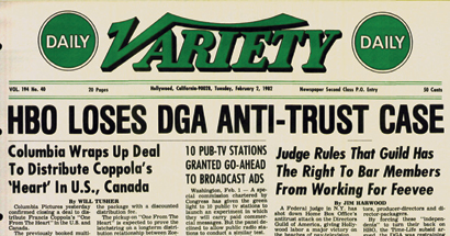 DGA Quarterly The Industry Cable Wars