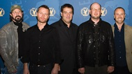 Moderator Robert Lieberman with 2007 Commercials Award nominees Nicolai Fuglsig, Noam Murro, Dante Ariola, and Fredrik Bond.