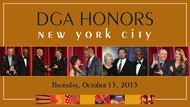 DGA Honors 2015 NYC