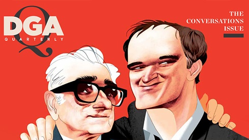 DGA Quarterly Magazine Fall 2019 Cover Quentin Tarantino Martin Sorsese