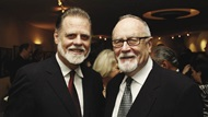 Gil Cates and Taylor Hackford