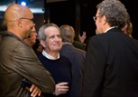 Whittingham and Schlamme chat with DGA National Executive Director Jay D. Roth