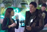 DGA Movies for Television Host Committee member Bradford May(right) chats with a guest during the reception.