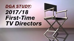 1st Time Episodic Directors Report 2018