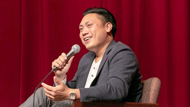 Director Jon M. Chu discusses Crazy Rich Asians