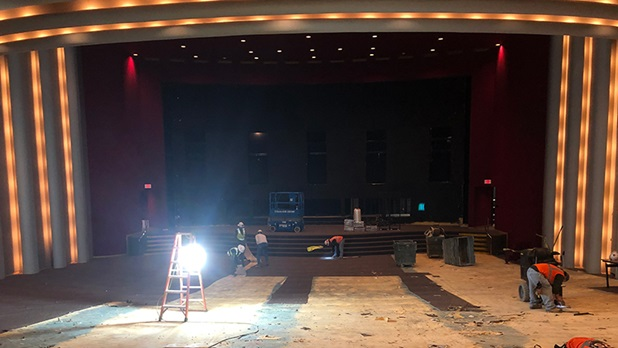 DGA Theater Upgrade Project