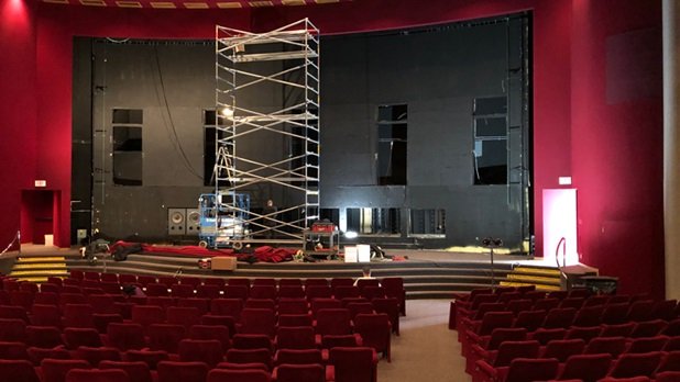 LA Theater Upgrade Project 2019