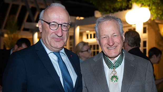 Michael Mann honored by France