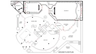 DGA Grand Lobby Atrium Plot Plan