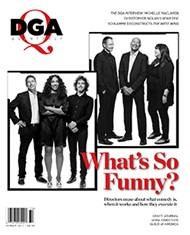DGA Quarterly Magazine Summer 2017 Cover