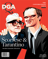 DGA Quarterly Magazine Fall 2019 Cover