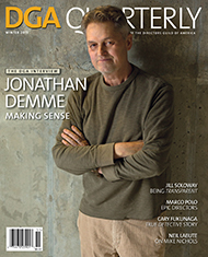 DGA Quarterly Winter 2015 Jonathan Demme