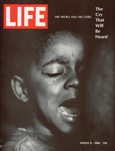 THE BIG PICTURE 2: A Life magazine cover from 1968 about inner city blacks. - photo Gordon Parks/Time & Life Pictures/Getty Images