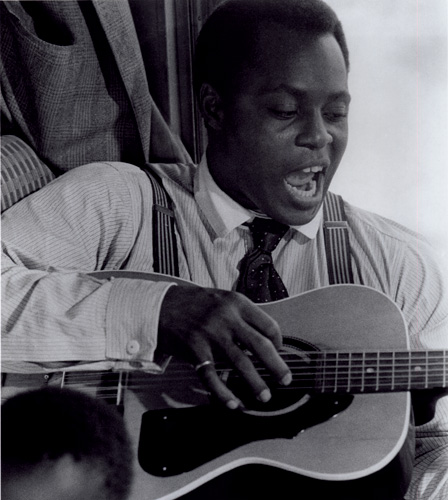 THE BIG PICTURE 4: Roger E. Mosley as Leadbelly. - photo courtesy Academy of Motion Picture Arts and Sciences.