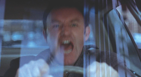 STREETWISE: Shots from the 15-minute sequence of Gene Hackman trying to catch the subday in Brooklyn in director William Friedkin's The French Connection (1971). - screen pulls © Twentieth Century Fox Film Corp. - click link for IMDB info. - click image for next photo in the series