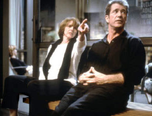 Nancy Meyers directing Mel Gibson in What Women Want