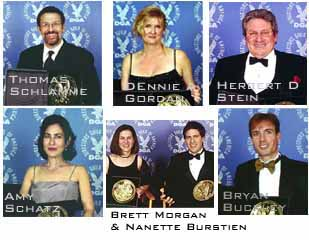 Thomas Schlamme; Dennie Gordon; Herbert Stein; Amy Schatz; Brett Morgan and Nanette Burstein; Bryan Buckley