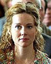 DGA Awards presenter Laura Linney - Photo by Merie W. Wallace - © 2003 Warner Brothers Ent.