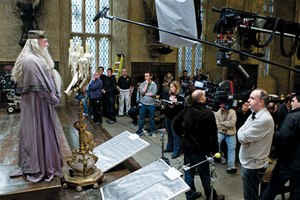 Harry Potter Camera Crew : Wizard behind the camera