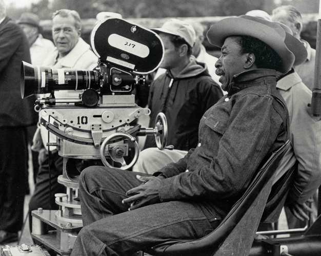 IN THE DIRECTOR'S CHAIR: Parks not only directed The Learning Tree, he wrote, produced and scored the film.-