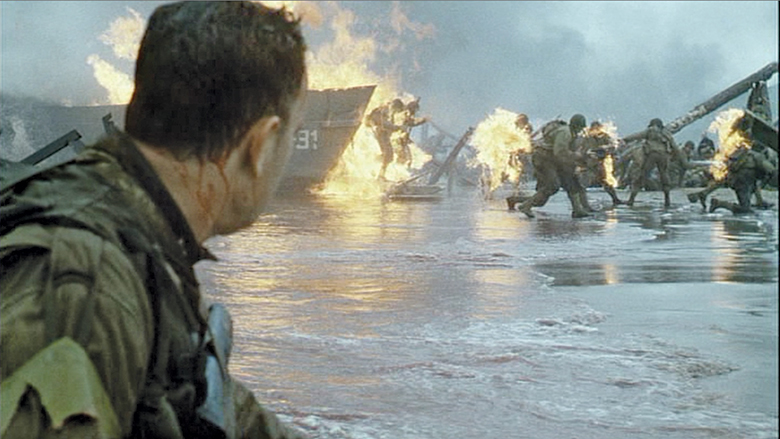 an analysis of the battle at normandy in saving private ryan by steven spielberg