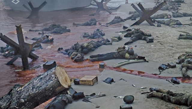 """saving private ryan essay opening scene Analysis on the opening scene of """"saving private ryan"""", what methods does the director use to present war in a realistic way in this essay."""