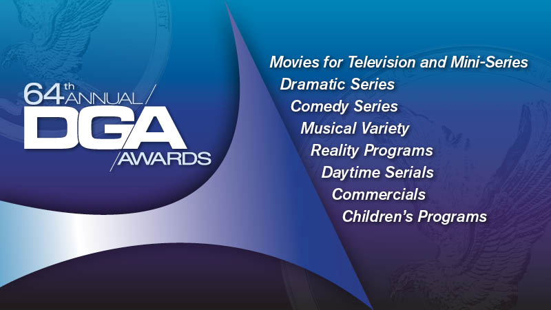 DGA 64th Awards TV Nominees