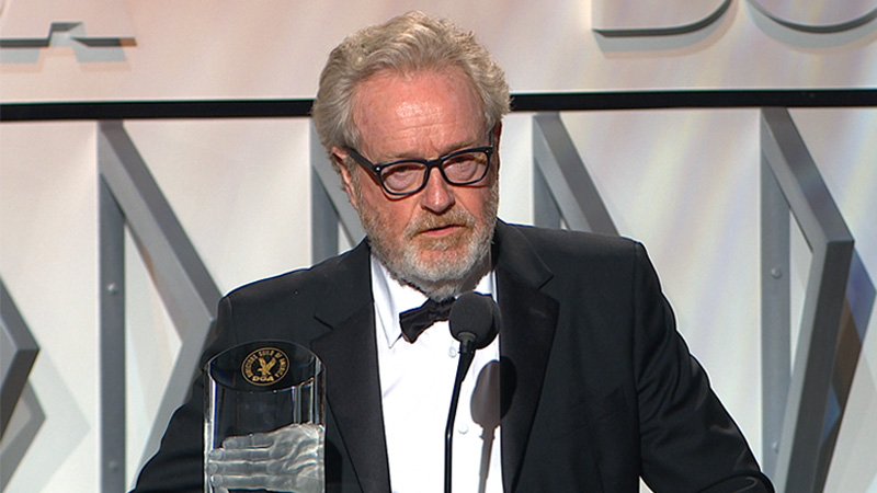 DGA Awards 2017 Ridley Scott