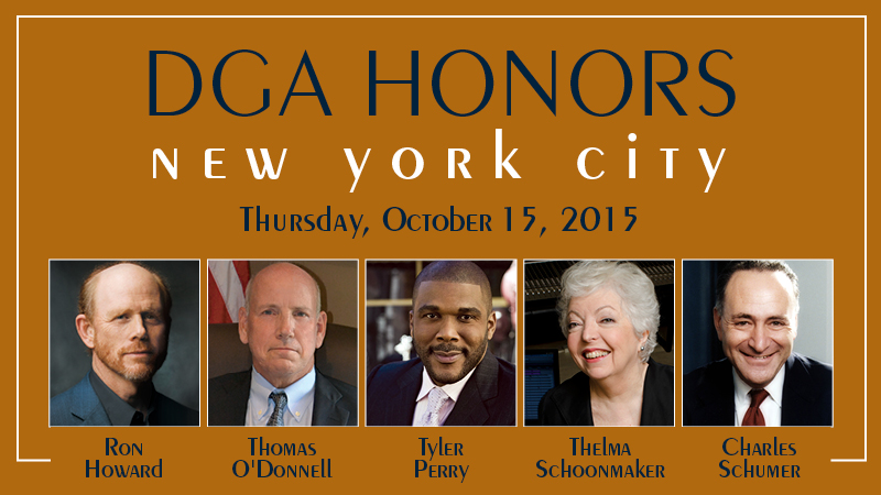 DGA Honors New York City 2015