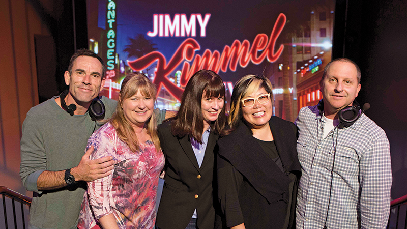 DGA Quarterly Jimmy Kimmel Directors Team